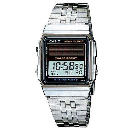 Casio Solar Battery-Less Watch - Silver : Al-180amvv-1udg 43997 [Watch]