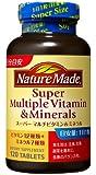 ネイチャーメイド スーパーマルチビタミン&ミネラル 120粒