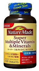 ネイチャーメイドスーパーマルチビタミン&ミネラル120粒