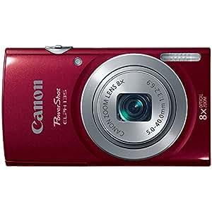 Canon PowerShot ELPH135 Digital Camera (Red)