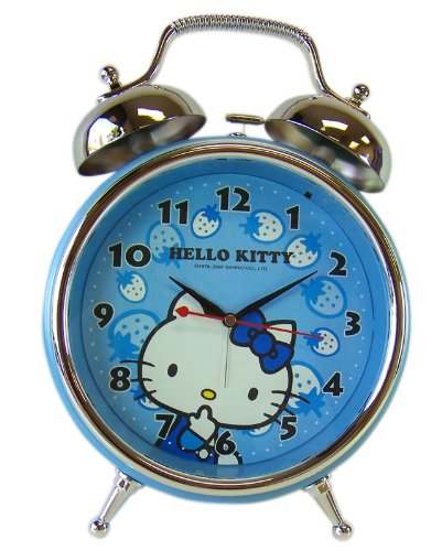 Hello Kitty Alarm Clock – Hello Kitty Twin Bell Alarm Clock – Desktop Alarm Clock