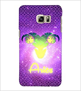 PrintDhaba Zodiac Aries D-3244 Back Case Cover for SAMSUNG GALAXY NOTE 5 (Multi-Coloured)