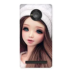 Cute Innocent Angel Doll Multicolor Back Case Cover for Yu Yuphoria