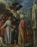 'Adam Elsheimer - Saint Lawrence Prepared For Martyrdom,about 1600-1' Oil Painting, 16x20 Inch / 41x52 Cm ,printed On Perfect Effect Canvas ,this Replica Art DecorativePrints On Canvas Is Perfectly Suitalbe For Gym Gallery Art And Home Artwork And Gifts