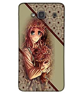 Fuson 3D Printed Girly Designer back case cover for Xiaomi Redmi 2S - D4369