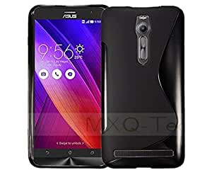 Ziaon Silicone S-Line Hybrid TPU Soft Gel Back Cover Case for ASUS Zenfone 2 ZE551ML ZE550ML