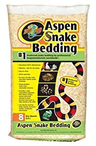 Zoo Med Aspen Snake Bedding 8 Quarts