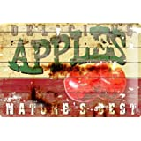 M.A. Allen Retro Cartel de chapa Placa metal tin sign EE.UU. decoración publicidad norteamericana Apple Pie 20x30...