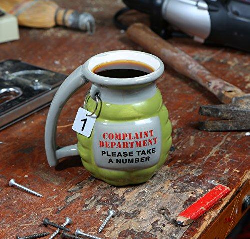 BigMouth Inc Grenade Mug - Take a Number