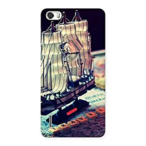 Gorgeous Travel ship Multicolor Back Case Cover for Honor 6