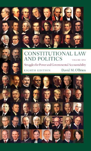 Constitutional Law and Politics, Vol.1: Struggles for...