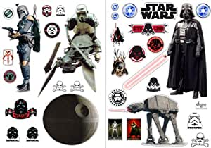 Abystyle - ABYDCO057_B - Ameublement et Décoration - Star Wars - Stickers - L' empire - Blister - 100 x 70 cm