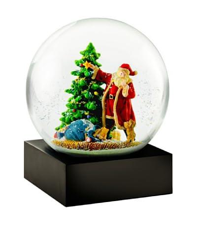 CoolSnowGlobes Santa's Puppy Snow Globe