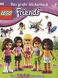 LEGO® Friends Das große Stickerbuch: Über 1000 tolle Sticker