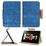 Luxlady Premium Amazon Kindle Fire HD 8.9 Flip Case abstract digital background IMAGE 19493465 Pu Leather Card Holder Carrying