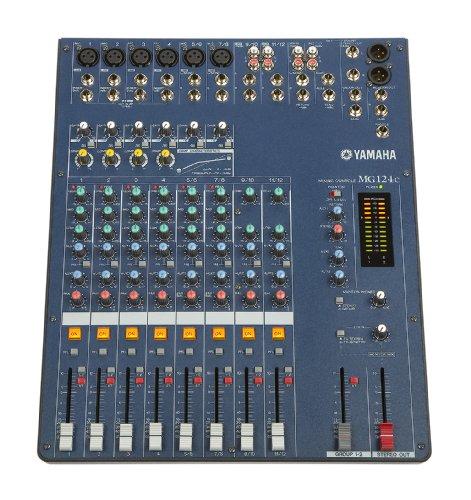 Yamaha MG124C 12 Input Stereo Mixer