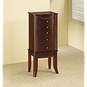 Coaster Company Casual Jewelry Armoire