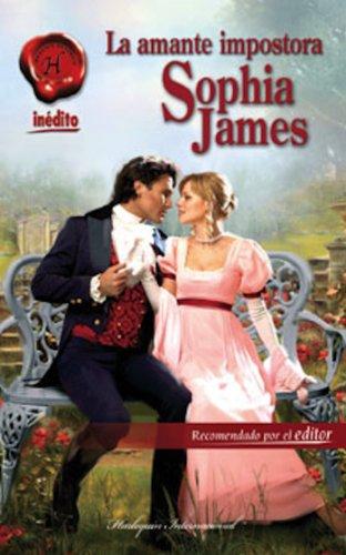 Portada del libro La amante impostora de Sophia James