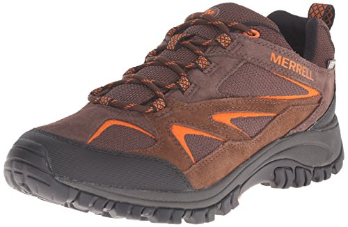 Merrell Men's Phoenix Bluff Waterproof Hiking Shoe, Dark Brown, 11 M US