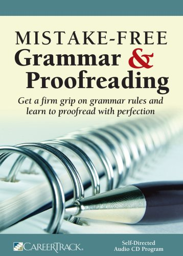 Mistake free grammar & proofreading