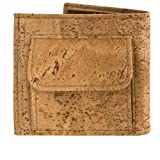 Corkor - Mens Wallet with Coins Holder Cork Made, Unique Gift for Men's
