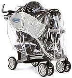 Graco 1759428 impermeable para carrito y silla de paseo - impermeables para carritos y sillas de paseo Transparente