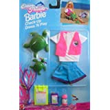 Barbie Check Up Dress N Play Ocean Friends Fashion Set (1996 Arcotoys, Mattel)