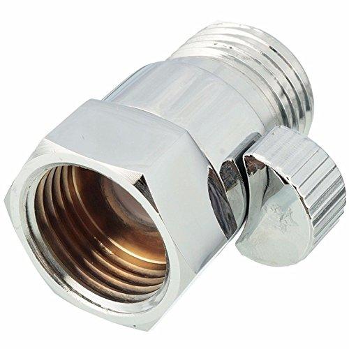1 2 solid brass flow contol shut off pressure valve for shower head han. Black Bedroom Furniture Sets. Home Design Ideas