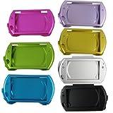 PSP Go Compatible Aluminum Shell Case-Color Black.