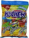 Morinaga Hi Chew Candy, Tropical Mix, 3.53 Ounce (Pack of 6)