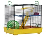 Lux 2 Hamster Cage (no  water bottle inlcuded)