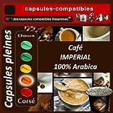 100 capsules compatibles Nespresso® Impérial