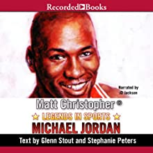 Legends in Sports: Michael Jordan (       UNABRIDGED) by Matt Christopher Narrated by J. D. Jackson