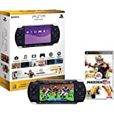 Play Station Portable Limited Edition Madden Nfl 11 Entertainment Pack Piano Black