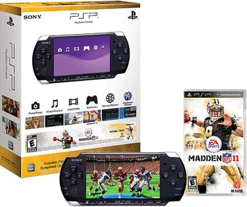 PSP 3000 Limited Edition Madden NFL 11 Bundle