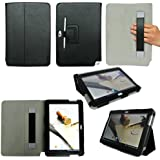 ProCase Galaxy Note 10.1 Case Ultra Slim Folio Stand Leather Case Cover for Samsung Galaxy Note 10.1 Inch N8000 N8010 N8013 Tablet (Flip Stand Case, Black)