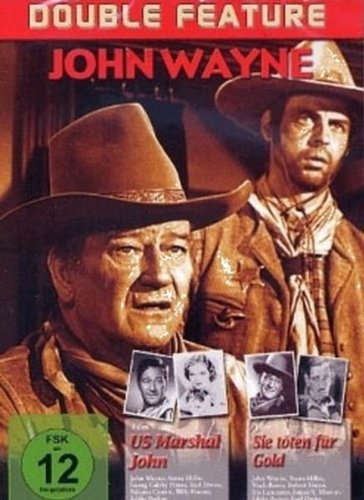 John Wayne - Double Feature (US Marshal John / Sie töten für Gold)