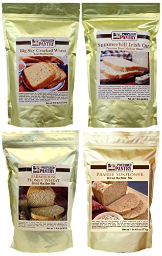 The Prepared Pantry Heartland Collection of Bread Mixes, 83.4 Ounce (Bread Machine Mixes Variety Packs compare prices)
