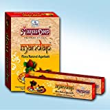 MaayasDeep Mandap Incense Sticks-Masala Flora