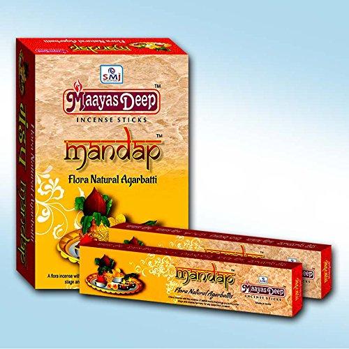 MaayasDeep Mandap Incense Sticks-Masala Flora