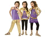 Girl&#039;s Hannah Montana Halloween Costume (Medium)