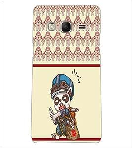 PrintDhaba Cartoon D-3362 Back Case Cover for SAMSUNG Z3 (Multi-Coloured)