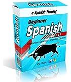 eSpanishTeacher's Beginner Spanish Language Course Software Lessons with Bonus 101 Spanish Verbs