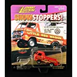"BILL ""MAVERICK"" GOLDENS 1988 LITTLE RED WAGON Johnny Lightning 1997 SHOWSTOPPERS 1:64 Scale Die Cast"