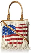Steve Madden Bfringer Shoulder Bag,Heart Flag,One Size