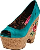 Betsey Johnson Women's Rosetaa Wedge Pump