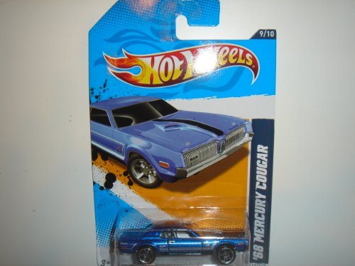 2012 Hot Wheels Muscle Mania - Ford '68 Mercury Cougar 9/10 - #119/247 - 1