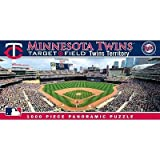 (13x39) Minnesota Twins 1000 Piece Panoramic Puzzle at Amazon.com