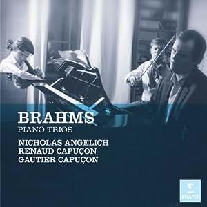 Brahms : Trios pour piano, violon et violoncelle n° 1 à 3