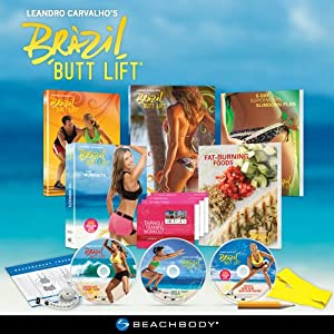 Brazil Butt Lift - Workout DVD (English and Spanish)